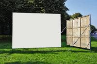 Plakatwand - Zwei aufgestellte Plakatwände
