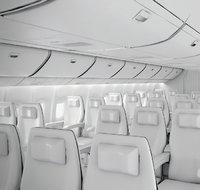 Platz - Plätze in einem Flugzeug