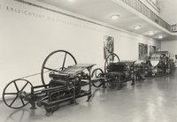 Presse - Alte Pressen in einem Museum
