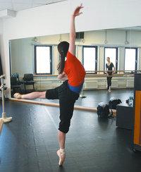 Probe - Probe einer Ballerina