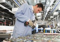 Produktion - Arbeiter bei der Produktion