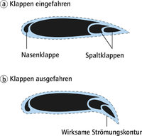 Profil - Profil eines Flugzeugflügels