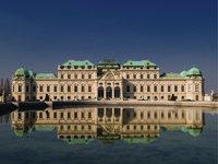 Prunkbau - Schloss Belvedere in Wien