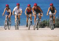 Radfahrer - Mehrere Radfahrer
