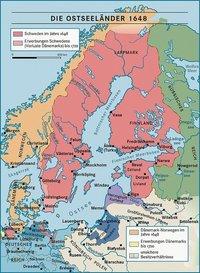 Raum - Historische Karte vom skandinavischen Raum