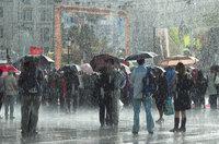 Regen - Menschen im Regen