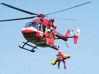 Rettung - Rettung mithilfe eines Hubschraubers