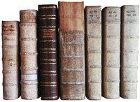 Rücken - Der Rücken von alten Büchern