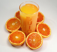 Saftorange - Saftorangen und Orangensaft
