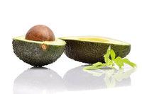 Samenkern - Avocado mit Samenkern
