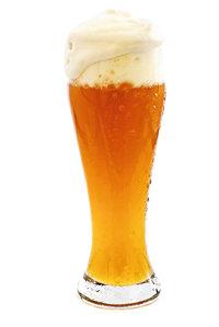 Schaumkrone - Ein Glas Bier mit Schaumkrone