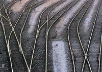 Schiene - Eisenbahnschienen