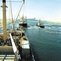 Schifffahrt - Schifffahrt auf dem Suezkanal