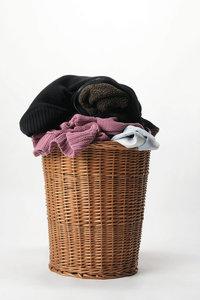 Schmutzwäsche - Schmutzwäsche im Korb