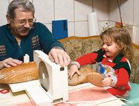 Schneidemaschine - Brotmaschine als Schneidemaschine