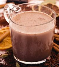 Schokolade - Heiße Schokolade in einem Glas