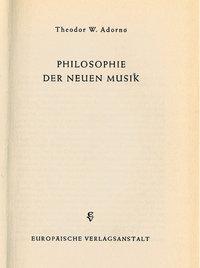 Schrift - Eine philosophische Schrift