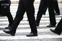 Schritt - Männer im Schritt