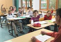 Schule - Unterricht an einer Schule