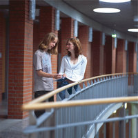 Schule - Schüler in einer Schule