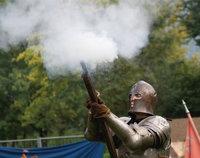 Schuss - Schuss mit einem Gewehr
