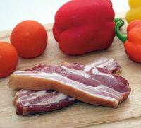 Schweinebauch - Schweinebauch und Gemüse