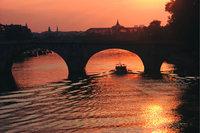 Seine - Brücke über der Seine