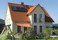 Seite - Hintere Seite eines Hauses