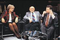 Sendung - Diskussion in einer Sendung