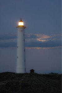 Signalfeuer - Signalfeuer eines Leuchtturms