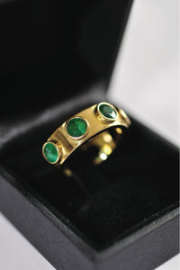 Smaragdring - Ring mit Smaragden