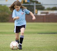 Spielerin - Junge Fußballspielerin