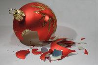 Splitter - Zersplitterte Weihnachtsbaumkugel