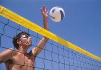 Sportler - Sportler beim Beachvolleyball