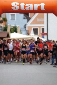 Sportveranstaltung - Massenlauf