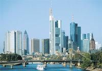 Stadt - Skyline der Stadt Frankfurt am Main