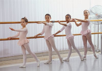Stange - Ballettunterricht an der Stange