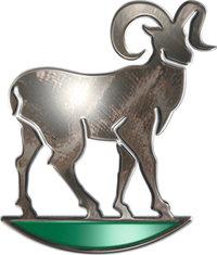Steinbock - Symbolische Darstellung des Tierkreiszeichens Steinbock