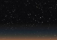 Stern - Viele Sterne am Himmel
