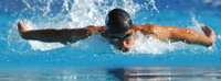 Stil - Delfin als Stil des Schwimmens