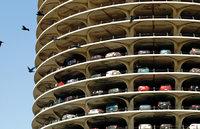 Stockwerk - Garage mit vielen Stockwerken