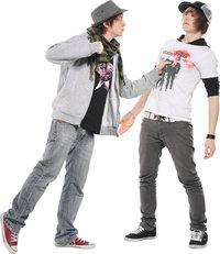 Streit - Streit zwischen zwei Jugendlichen