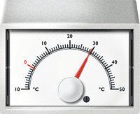 Strich - Striche auf einem Thermometer