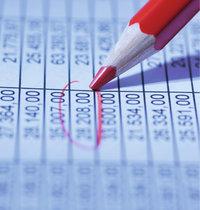 Tabelle - Tabelle und Stift