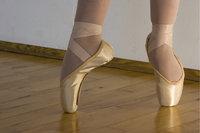 Tanzschuh - Tanzschuhe in Benutzung