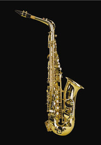 Taste - Saxofon mit Tasten