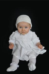 Taufkleid - Baby im Taufkleid