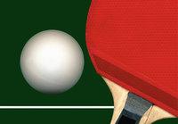 Tischtennisball - Tischtennisball und Tischtennisschläger