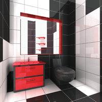 Toilettenspiegel