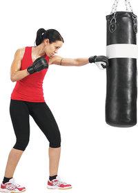 Training - Boxerin beim Training